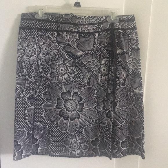 A. Byer Dresses & Skirts - A.BEYER BLACK & WHITE COTTON SKIRT